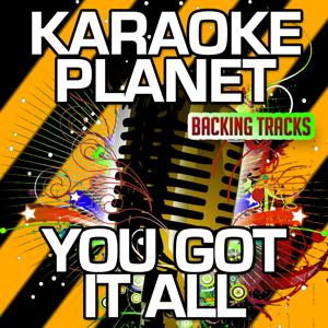 You Got It All (Karaoke Version) (Originally Performed By Union J)