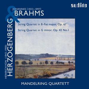 Brahms: String Quartets, Op. 67 & Herzogenberg: String Quartets, Op. 42, No.1