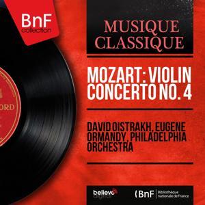 Mozart: Violin Concerto No. 4 (Mono Version)