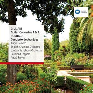 Giuliani: Guitar Concertos No. 1&3, Rodrigo: Concierto de Aranjuez