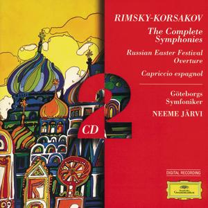 Rimsky-Korsakov: The Complete Symphonies; Russian Easter; Capriccio es