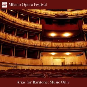 Arias for Baritone Only Music