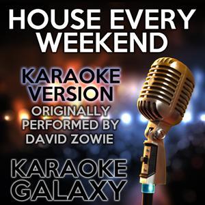 House Every Weekend (Karaoke Version) (Originally Performed By David Zowie)