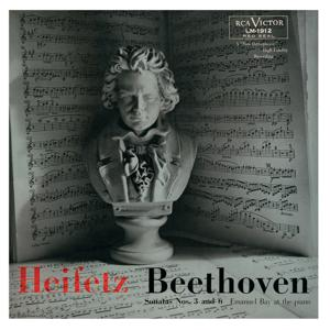 Beethoven: Sonata No. 3 in E-Flat, Op. 12, No. 3, Sonata No. 6, Op. 30, No. 1 in A