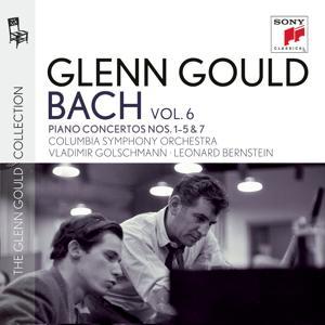 Glenn Gould plays Bach: Piano Concertos Nos. 1 - 5 BWV 1052-1056 & No. 7 BWV 1058