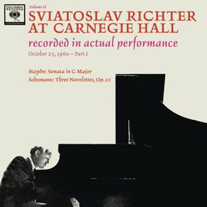 Sviatoslav Richter Plays Haydn and Schumann - Live at Carnegie Hall (October 25, 1960)