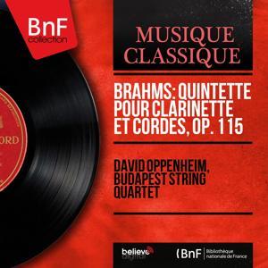 Brahms: Quintette pour clarinette et cordes, Op. 115 (Mono Version)