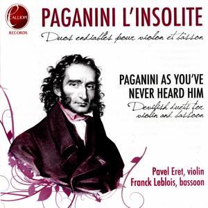 Paganini l'insolite