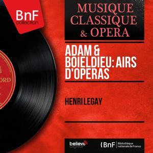 Adam & Boieldieu: Airs d'opéras (Mono Version)