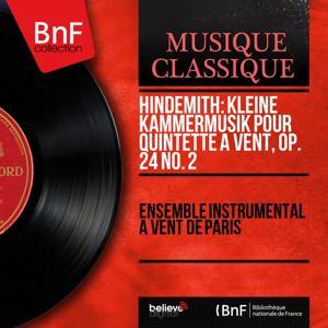 Hindemith: Kleine Kammermusik pour quintette à vent, Op. 24 No. 2 (Mono Version)