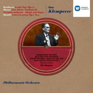 Klemperer - Große Fuge Op.133 etc