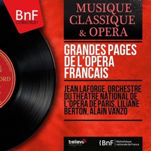 Grandes pages de l'opéra français (Mono Version)