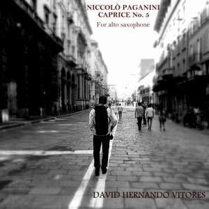 Niccolò Paganini: Caprice No. 5 for Alto Saxophone