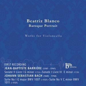 Barrière &  Bach: Works for Violoncello