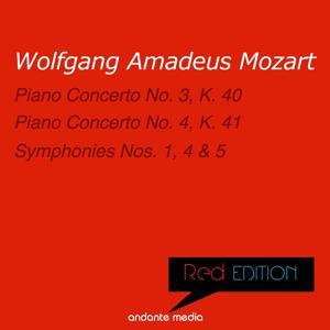 Red Edition - Mozart: Piano Concertos Nos. 3, 4 & Symphonies Nos. 1, 4, 5