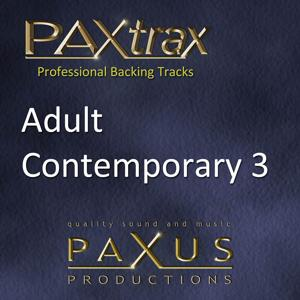 Paxtrax Professional Backing Tracks: Adult Contemporary 3