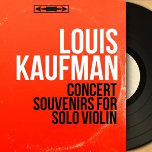 Concert Souvenirs for Solo Violin