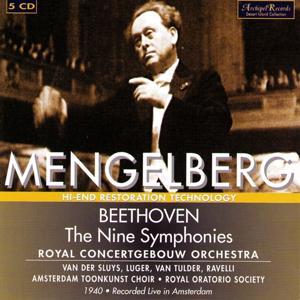 Ludwig van Beethoven: The Nine Symphonies (1940 Recorded Live In Amsterdam)
