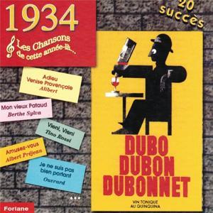 1934 : Les chansons de cette année-là (20 succès)