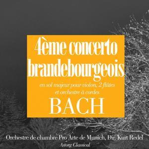 Bach: Concerto brandebourgeois No. 4, en sol majeur (Pour violon, 2 flûtes et orchestre à cordes)